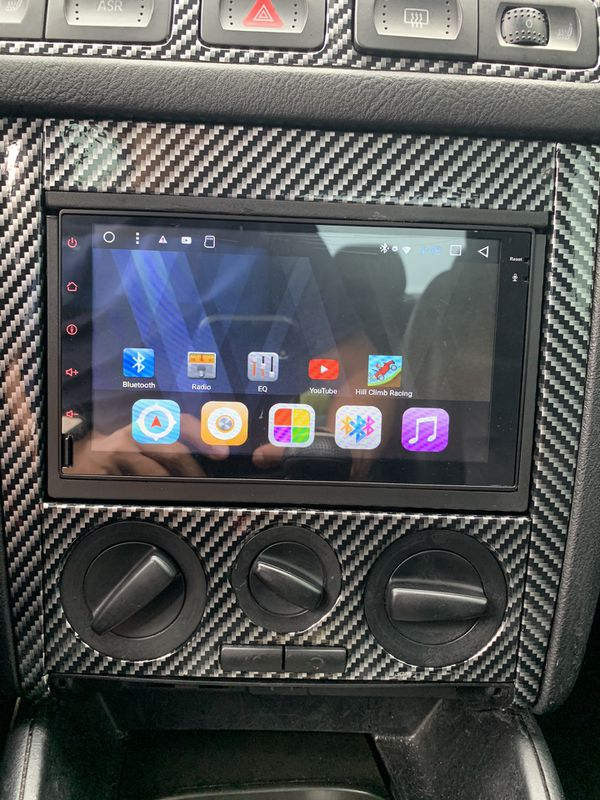 double din radio with bluetooth