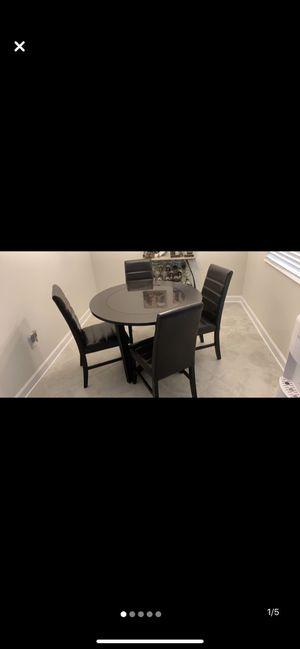 Dark wood breakfast nook dining table for Sale in Winter Garden, FL