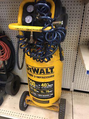DeWalt D55168 compressor for Sale in Whittier, CA
