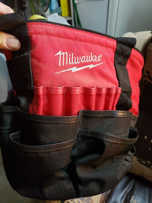 Milwaukee toolbags $15 each or both for $25