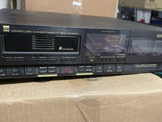 Free 6 CD And One Cassette Player for Sale in Gaithersburg,  MD