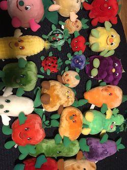 Fruit And Veggie Stuffies for Sale in Warwick,  RI