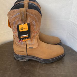 WORK BOOTS ARIAT SOFT TOE WATERPROOF SIZE 13 MEN'S for Sale in Pico Rivera, CA