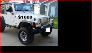 $1000 Jeep Wrangler for Sale in Oakland, CA