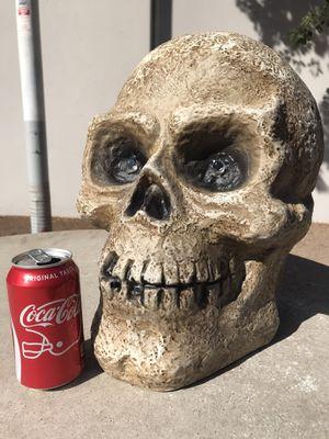 Halloween skull head - screaming skeleton for Sale in Tempe, AZ
