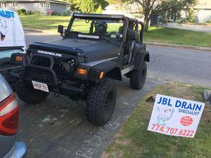 99 jeep wrangler TJ 76k miles Trade for nice plow truck! for Sale in Framingham, MA