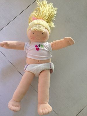 Pottery Barn Blond Plush Doll for Sale in Miami, FL