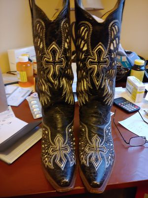 Leather Corral Cowboy Boots for Sale in Goodyear, AZ