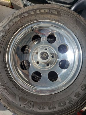 Set of 4 rims and tires for Sale in Land O Lakes, FL