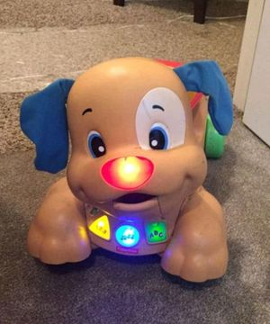 Fisher Price Light & Sounds Learning Puppy for Sale in Bloomington, IL