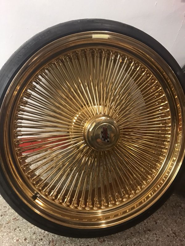 24 All Gold Dayton Wire Wheels For Sale In Fort Lauderdale Fl Offerup