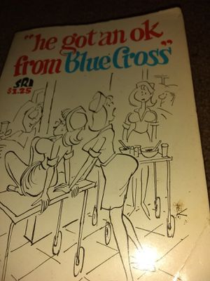 Book he got an ok from blue cross by George Bluecross for Sale in Cleveland, OH