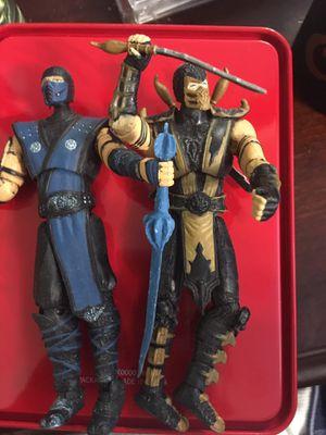 Mortal combat figures for Sale in Sacramento, CA