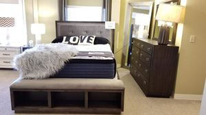 4 piece bedroom set presented by modern home furniture in Everett for Sale in Bellevue, WA