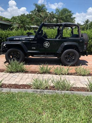 1997 Jeep Wrangler Tj for Sale in Pompano Beach, FL