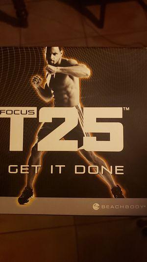 Beach body T25 training dvds for Sale in Sunrise, FL