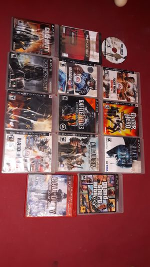 14 ps3 games for Sale in Lakeside, AZ
