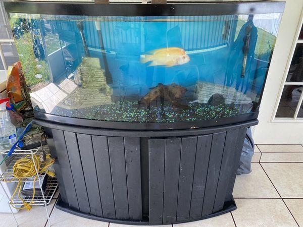 72 gallons half moon fresh water tank