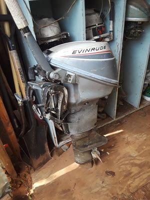 9.5 evinrude outboard for Sale in Oklahoma City, OK