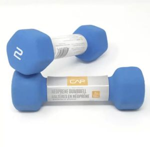 NEW CAP Neoprene Hex 2 Lb Dumbbells Hand Weights 1 Set Pair for Sale in DW GDNS, TX