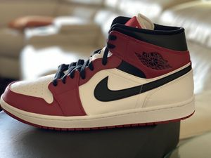 Air Jordan 1 Mid Chicago White Heel for Sale in Mesa, AZ