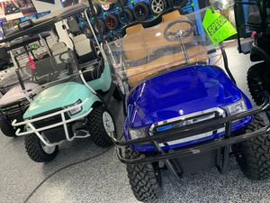 Golf carts upgraded !! Brand new custom parts on all of them !! for Sale in Seminole, FL
