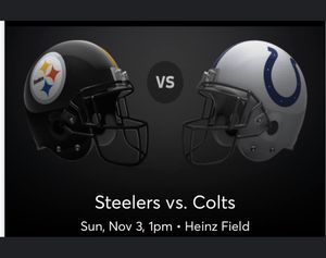 Steelers vs. Colts for Sale in Monroeville, PA
