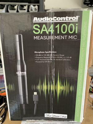 AudioControl SA41000i measurement mic for Sale in Glendale, AZ