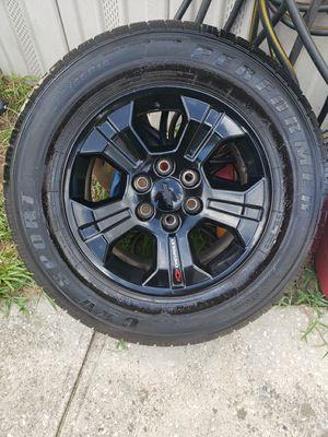 265/65/18 Chevrolet Silverado 4 Rims and Tires for Sale in Davenport, FL