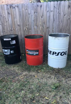 55 GALLONS BARREL/ BARRILES DE 55 GALLONES for Sale in Fort Worth, TX