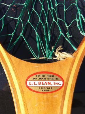 Vintage LL Bean trout net for Sale in Casco, ME