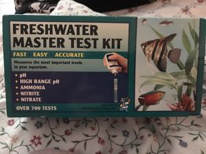 API FRESHWATER MASTER TESTING KIT for Sale in Gaithersburg, MD