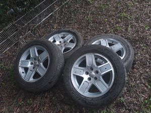 dodge charger rims and tires for Sale in Tampa, FL