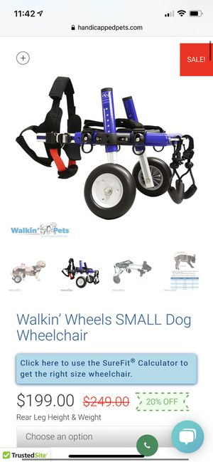 Dog wheelchair for Sale in San Jose, CA