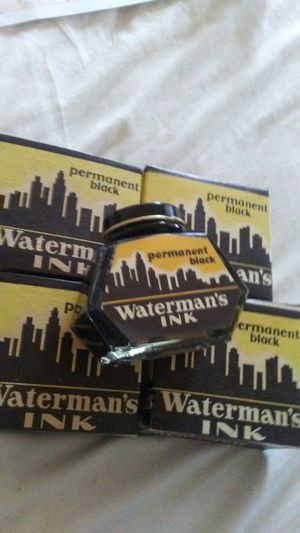 4- Vintage Waterman's Permanent Blank Ink! Never used for Sale in Pen Argyl, PA