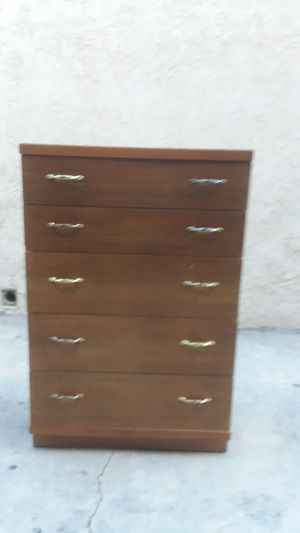 SOLID WOOD ANTIQUE DRESSER for Sale in Whittier, CA