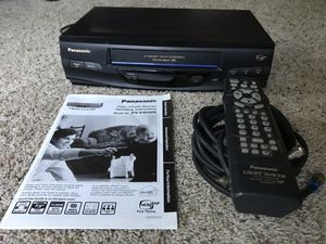 Panasonic VCR with remote for Sale in Hillsboro, OR