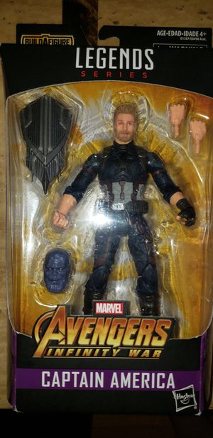 Marvel Legends Avengers Infinity War Captain America for Sale in Chicago, IL