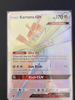 Kartana Gx Secret Rare Mint Condition Make Offer for Sale in Kent,  WA