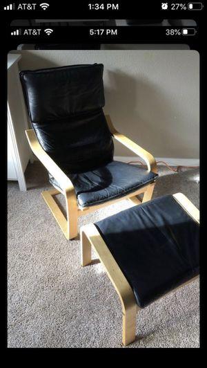 IKEA chair ottoman 2 lot for Sale in Edmonds, WA