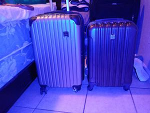 Suitcases with USB cord for Sale in Houston, TX
