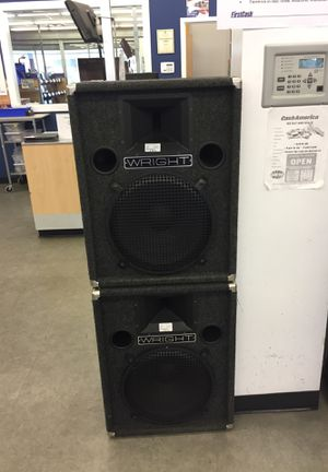 Wright pair of speakers for Sale in Algonquin, IL