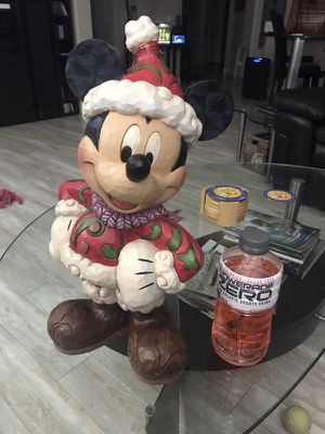 New Jim Shore Disney Traditions Mickey Mouse Large Outdoor Santa Figurine!! for Sale in Pittsburg, CA