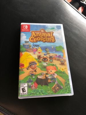 Animal crossing brand new in plastic for Sale in Federal Way, WA