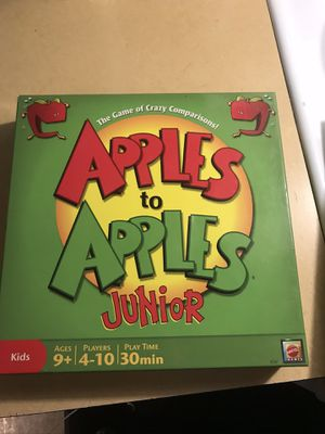 Apples to Apples Game for Sale in Saint Paul, OR