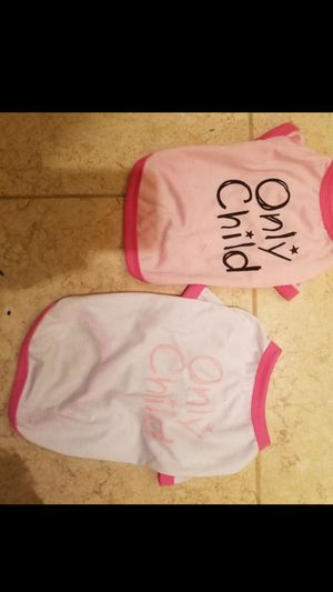 ONLY CHILD DOGGY TS for Sale in Snohomish, WA