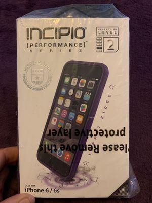 Incipio purple performance series level 2 IPhone 6/6s case for Sale in Cocoa, FL
