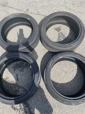 4 Pirelli tires 245/40/R20 for Sale in Springfield, VA