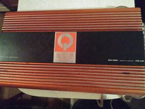 """Quantum amplifier with two 12""""kickers for Sale in Arlington Heights, IL"""