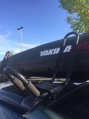 kayak rack universals one for Sale in Seattle, WA